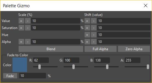Managing Palettes and Styles — OpenToonz 1 3 0 documentation